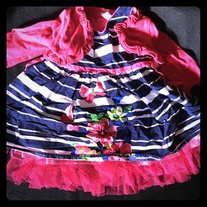 Other - Baby/toddler dress with sweater